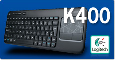 Logitech Wireless Touch K400