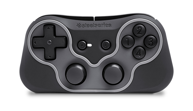 steelseries ion ta manette pour pc smartphone. Black Bedroom Furniture Sets. Home Design Ideas