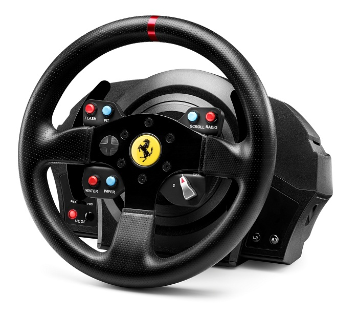 thrustmaster t300 rs ferrari gte. Black Bedroom Furniture Sets. Home Design Ideas