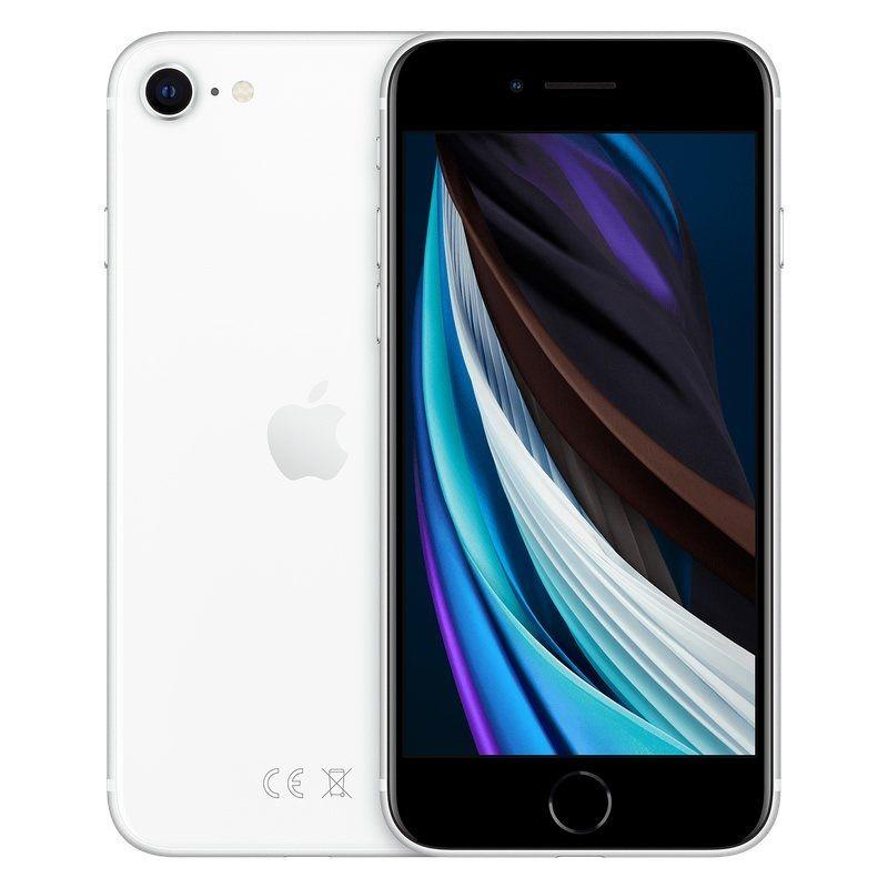 Apple iPhone SE 2020 64 GB Branco MX9T2QL/A - DiscoAzul.pt