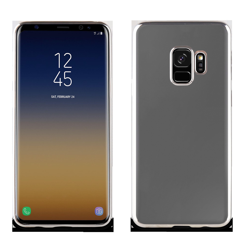 30cab0b500 Funda Tpu Marco Prata Bling Samsung Galaxy S9 Muvit Life