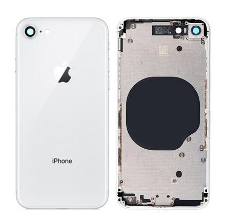 Carcaça Traseira Completa iPhone 8 Plus Vermelho